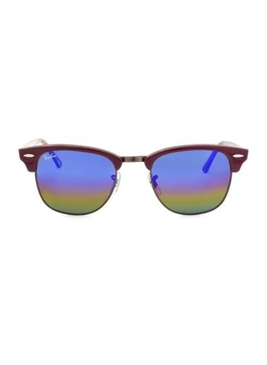 Ray-Ban Clubmaster Rb 3016 Col 1222/C2 49-21 Bayan Güneş Gözlüğü Renkli